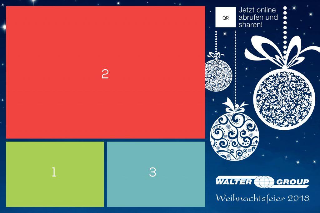 Walter Group Weihnachtsfeier Layout